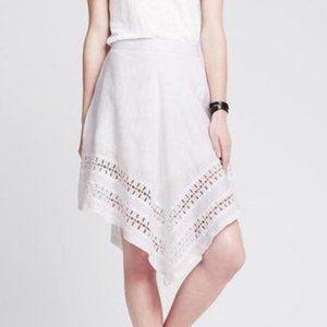 100% Linen Banana Republic Skirt